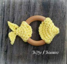 Here Fishy, Fishy Teether FREE Crochet Pattern