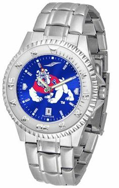 Fresno State Bulldogs Competitor Anochrome - Steel Band - Men's - Men's College Watches by Sports Memorabilia. $87.08. Makes a Great Gift!. Fresno State Bulldogs Competitor Anochrome - Steel Band - Men's