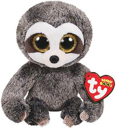 Dangler the Gray Sloth Beanie Boo Plush Toy  adorable Snuggle Toy Ty Toys 3df44775a3c6