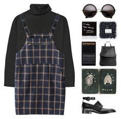"""""""ART STUDENT"""" by arditach ❤ liked on Polyvore featuring Marni, Acne Studios, women's clothing, women's fashion, women, female, woman, misses and juniors"""