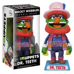 Bobble Head deDr Teeth un des personnages du Muppets Show. Dr Teeth mesure environ 18 cm, en vinyle