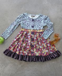 $50 Bridgette Dress at Mathilda Jane. Perfect for the little girl on foggy mornings.