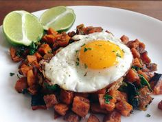 Chorizo Sweet Potato Hash - Paleo Brunch Recipe-1