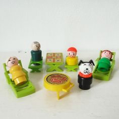 Little People FISHER PRICE vintage picnic set