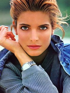 The one and only Stephanie Seymour. Best modeling body ever. Natural and beautiful.