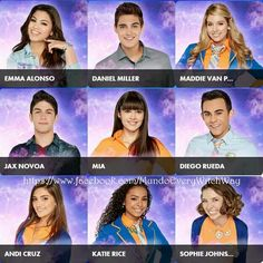 The cast of Every Witch Way