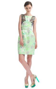 Shop Matthew Williamson Panelled Day Dress at Moda Operandi
