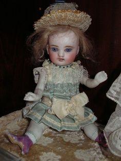 """apr.1900  Very rare original antique  clothes for  7,2""""  doll"""