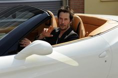 Keanu Reeves and Ferrari