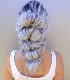 Romantic ponytail by Alexandra Wilson