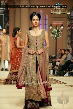 bridal collection 2015 telenor couture week - Google Search