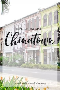 Chinatown is a good place to see Singapore's Chinese culture and rich history. Its streets show off colorful ethnic designs, good food and great bargains.