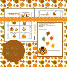 Thanksgiving Freebie!