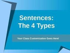 1000+ images about GRAMMAR: Sentences on Pinterest | Complex sentences ...