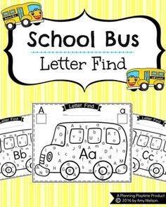 Letter Find - School