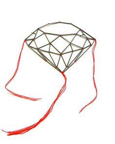 "masako hamaguchi - diamond brooch ""floppy"""