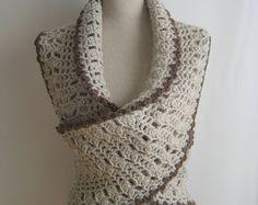 crochet neckwarmer - etsy -  I love this wrap!