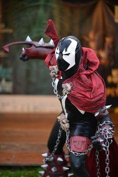 Spawn cosplay!!! lol so cool!