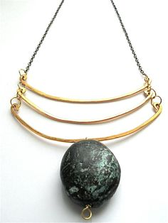 Chayaa Turquoise Necklace. I would wear this with a plain tshirt and jeans or a simple shift dress. Jewelry is how you take ordinary clothes and make them pop