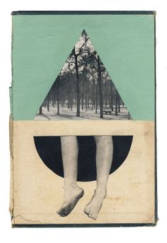 """""""Root"""" collage on book cover Hollie Chastain Carta Collage, Art Du Collage, Mixed Media Collage, Art Et Illustration, Illustrations, Collages, Photomontage, Inspiration Art, Mixed Media Artists"""