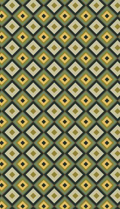 Retro pattern design by PINEAPPLE Studio #pattern #surface #textile