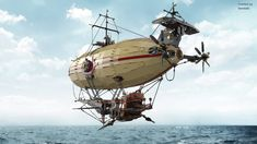 GlenBricker's Review: Epic Airship designed by Teareado and rendered by Nachapon