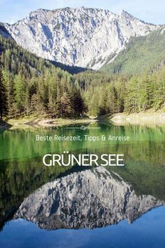 The Green Lake has more than earned its reputation as the most beautiful place in Austria. Here we show you the best tips for your trip. Heart Of Europe, Reisen In Europa, Austria Travel, Green Lake, Weekend Trips, Travel Information, Countryside, The Good Place, Travel Photography