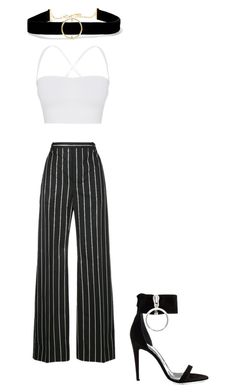 """Untitled #64"" by avakitchen on Polyvore featuring Theory, Balenciaga, Off-White and Anissa Kermiche"