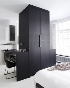 Karin Meyn | Appartment styling Amsterdam; Piet Boon Design~~~ wood finish.