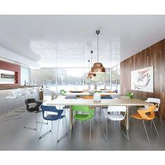 Scaune de birou ergonomice si conferință Scaun Aoki Ergonomic rotativ cu brațe Antares Conference Room, Table, Furniture, Design, Home Decor, Decoration Home, Room Decor, Tables