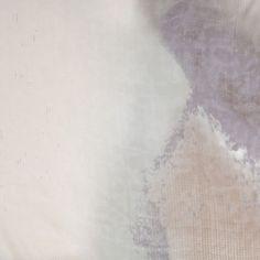 Tie-Dye Beige Silk Chiffon