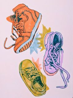 Let the bass from the speakers run through your sneakers Sketchbook Inspiration, Art Sketchbook, Fashion Sketchbook, Illustrations, Illustration Art, Art Sketches, Art Drawings, Psy Art, Pretty Art
