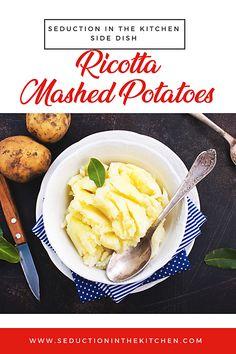 Ricotta Mashed Potatoes Long Pin