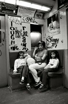 Taking the A Train 1975 #truenewyork #lovenyc #citylife