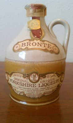 Vintage  Rare Bronte Yorkshire Liqueur French Brandy by MaisondeQ, $30.00