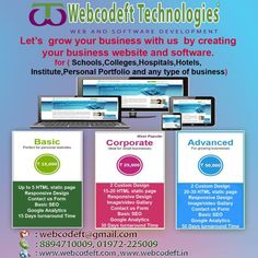 Webcodeft Technologies, a Software Company dealing with Software ,Web development,SEO,Web Designing,Graphic Designing and Industrial Training's (on Live Projects). We have special Courses for Web D…