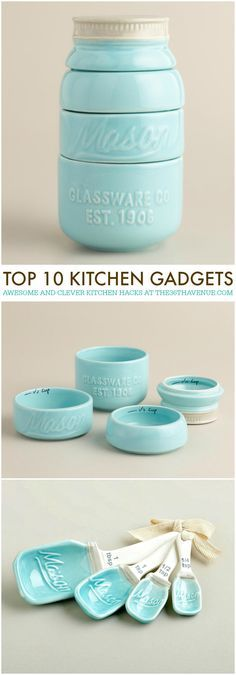 10 Kitchen Gadgets - The AVENUE Kitchen Gadgets - 10 CLEVER Gadgets that will make your life easier! See them all at Kitchen Gadgets - 10 CLEVER Gadgets that will make your life easier! See them all at Clever Gadgets, Cool Kitchen Gadgets, Gadgets And Gizmos, Kitchen Items, Kitchen Utensils, Cool Kitchens, Kitchen Tools, Kitchen Hacks, Electronics Gadgets