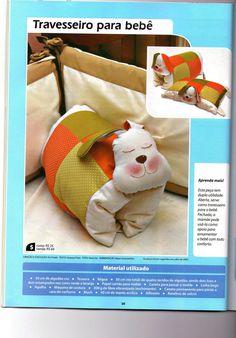 Moldes Para Artesanato em Tecido: Almofada de Cachorrinho
