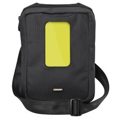 "Cocoon - Gramercy - Messenger Sling Apple iPad/10"" Tablets (Black)"
