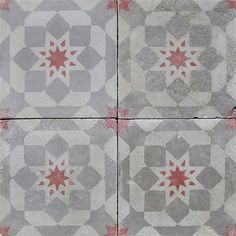 Exquisite Surfaces offers an extensive line of new cement tiles and French and Belgian antique cement tiles Tile Counters, Backsplash, Porch Tile, Surface, Cement Tiles, Flooring, Antiques, Interior, Kitchen Tile