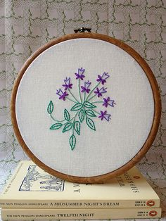 Shakespeare�s Flowers Embroidery Patterns � Out Now!