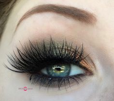 """""""Inspritation is everywhere!"""" Lilz Trueman found inspiration for this look from a vintage hat. Makeup Geek Eyeshadows in Flame Thower and Jester. Mac Eyeshadow in Copperplate. Look by: Lilz Trueman."""