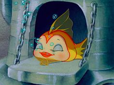 More like name that Disney aquatic animal, but you get the idea. Arte Disney, Disney Magic, Disney Art, Disney Pixar, Disney Characters, Old Disney, Vintage Disney, Disney Love, Vintage Cartoon