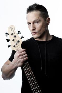 Goran Vujic  professional bassist  picture by :  Frank Lothar Lange  © Copyright : Frank Lothar Lange
