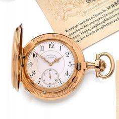 UHRENFABRIK UNION Glashütte Bei Dresden, n° 43214, vers 1895 Rare et exceptionnelle montre de