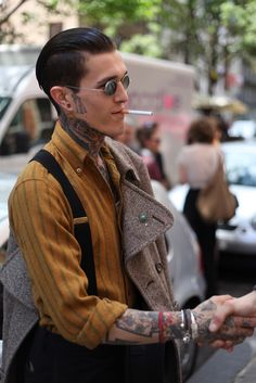 London Fashion by Paul: Street Muses...Mens Spring/Summer 2013...Jimmy Q