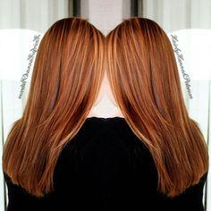 Beautiful copper red highlights with only 10 Foils.  #thelegacysalon #hairbyhannahpeterson #cullmanhair #cullmanal #cullman #cullmanhairstylist #alabamahairstylist #cullmanalabamahairstylist #yourlocalhairstylist #redken #redkenobsessed #matrix #bondultim8 #daretohair #americansalon #modernsalon #stylistsupportstylist #behindthechair #heystyleplum #cosmetology #cosmetologist #hair #haircolor #color #copper #copperred #copperhighlights #highlights #beautiful #beauty