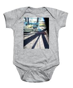 Deck of the Oil Well Onesie is a fun Onesie for infants and toddlers with Petroleum Industry ties. Photography by Louisiana's Cajun Creole Photographer Seaux N. Seau Soileau.