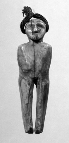 Ivory spirit figure, Eskimo