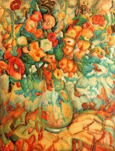 'Bloemen' - Leo Gestel.